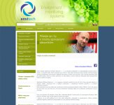 Tvorba web stránky a webdesign Envitech Bohemia