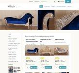 Tvorba internetového obchodu Waterfall furniture